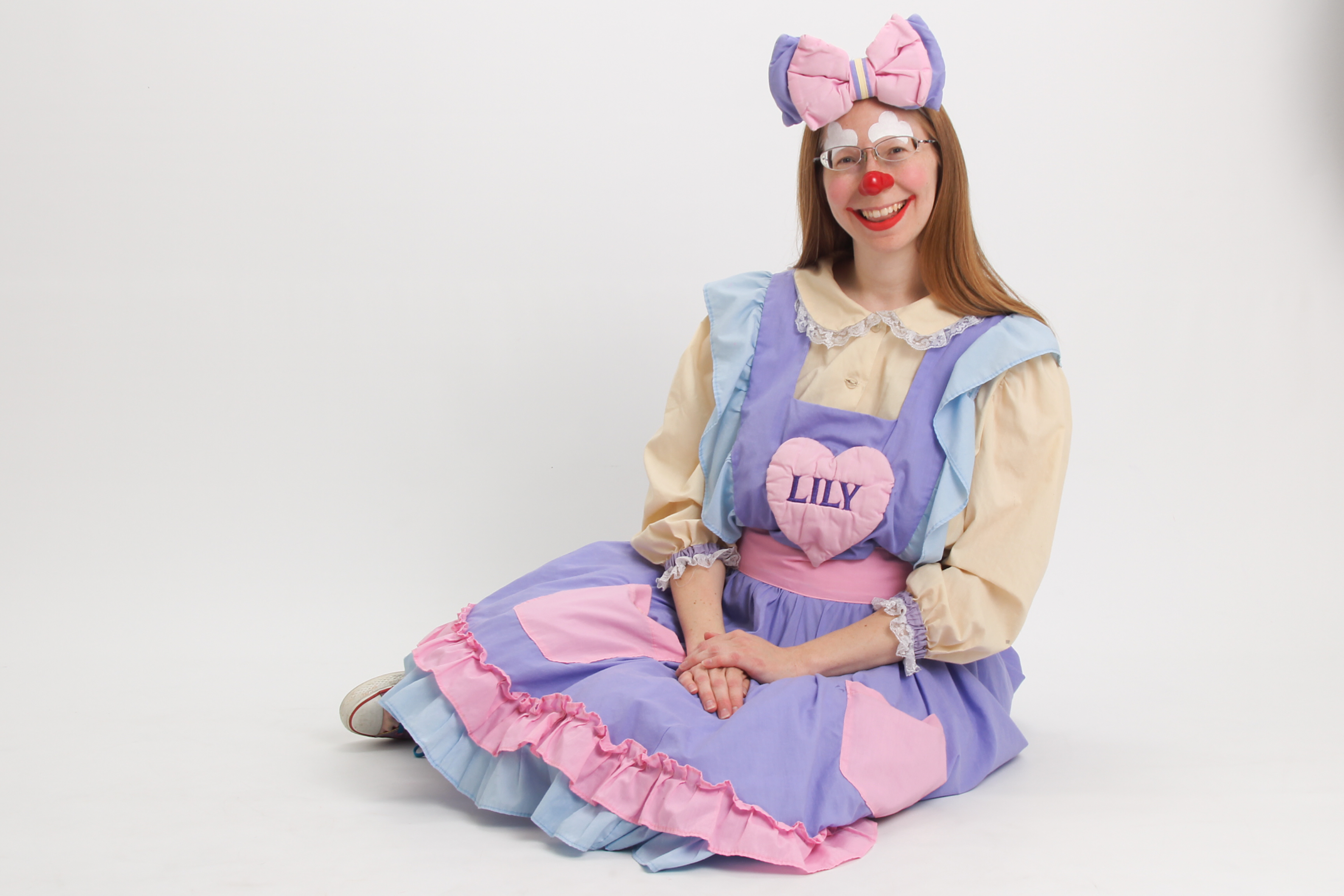 Children love Lily the Clown for birthday parties